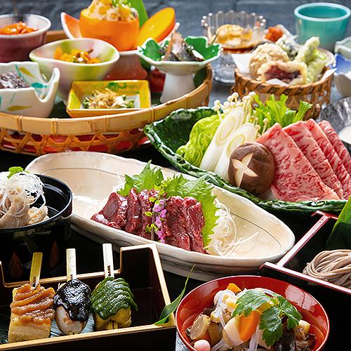 【郷土会席-いちりきあいづ-】 こづゆ♪馬もつ♪鯉のスッポン仕立♪他では味わえない<一力流会津料理>