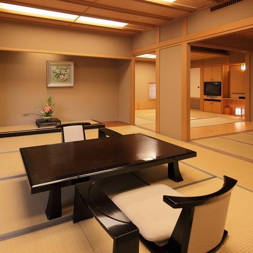 【特別室】次の間バス付の広い部屋