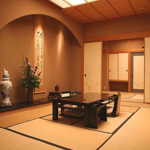 【貴賓室】庭園に面した和室12帖+10...