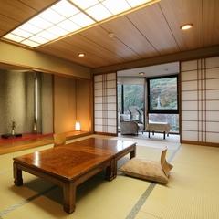 【和室12帖】日本庭園に面した一番人気のゆったりとしたお部屋