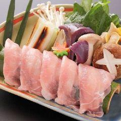 【2017秋 お得会席】福島ブランド「川俣軍鶏」は秋のキノコと共に♪ホタテの貝焼き