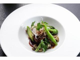 フォアグラ大根が付いた料理アップグレード宿泊style【宮城巡り 飲食特典】