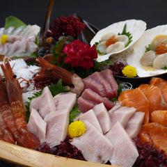 【北前船日本遺産おめでとう】深浦の魚を食べつくせ!!お刺身三昧【豪華舟盛り】二食付きプラン