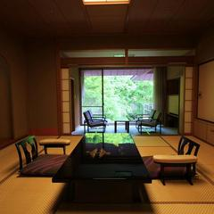 和室 本間12.5畳+広縁9.9平米
