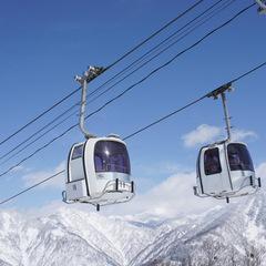 【スキー・スノボー】白山一里野温泉スキー場または白山セイモアスキー場の【1日リフト券】付☆定番会席