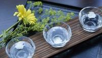 【日本酒はじめてセット】3種のフルーティな日本酒+創作料理でうるおう美肌へ<ライト▼創作料理>