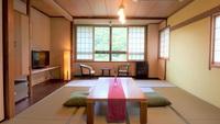 【禁煙】和室12畳(34平米/バストイレ付/最大6名)