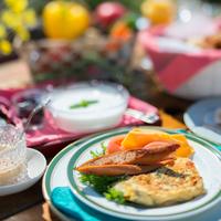 ◆楽天限定早期予約でポイント8倍保証&200円引◆有機野菜がカラダに優しい朝食付【さき楽45】