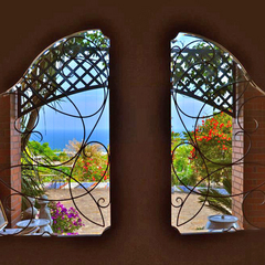 ◆La miradorスタンダード◆美しい眺望と心地よい潮風…そしてマダムの手料理