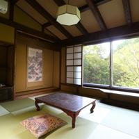 山桜の間【新築・源泉かけ流しの展望風呂付・12畳】禁煙