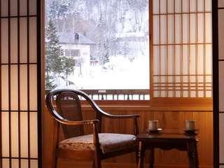 貸切風呂無料特典!【冬★スタンダードプラン】雪見温泉とこだわりのお料理を堪能 連泊もおすすめ