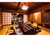 いにしえ館・スタンダード客室(和室8〜10帖+広縁2帖)