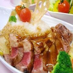 【予約限定ステーキ丼】 ☆2食付プラン☆