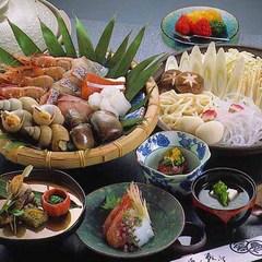 朝獲れの新鮮海の幸を贅沢お鍋!今日の海鮮すき鍋