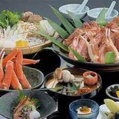 【蟹すき鍋】あま・ふわ・じゅわ〜♪〆の絶品雑炊で大満足!蟹すき大鍋コース