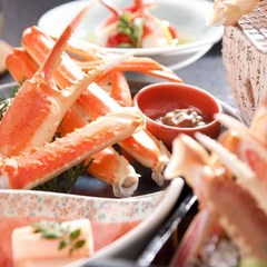 【訳あり×蟹会席】1,080円OFF!かに刺し・焼きガニ・天ぷら・茹で蟹…フルコースで食べ比べ♪
