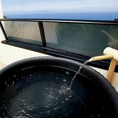 眺望露天風呂&舟盛付きコース料理プラン