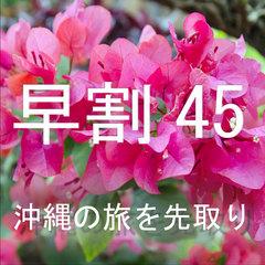 沖縄の旅を先取り!45日前迄の予約!素泊り  【さき楽】