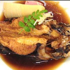 【オコゼ】朝市場で水揚げされた獲れたて海の幸、オコゼを食するプラン♪<二食付>〔琴弾回廊入浴券付〕