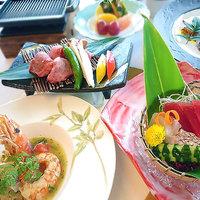 【さき楽55/2食付き】 55日前のご予約で<1泊2食付き:ご夕食『玻名城会席コース』>がお得!