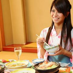 【いつもより贅沢に。上州牛は陶板焼きで♪】部屋食で味わう群馬ブランド牛と彩り豊かな食材を堪能