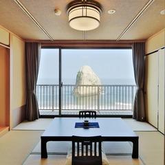 絶景!太平洋一望の8畳和室【ベランダあり】