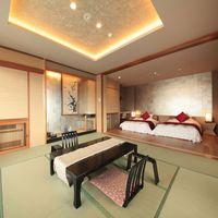 最上階角部屋◆眺望清やかな和モダン客室/禁煙