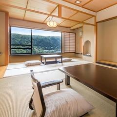 【タイプ2】芦ノ湖一望の和室10畳+6畳(47平米)
