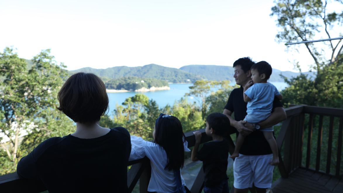【ファミリー限定】別荘気分で家族で素敵な時間を過ごそう!素泊◆自炊OK!キッチン付