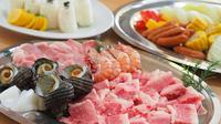 【BBQ】海を見ながらバーベキュー★オリーブ牛コース