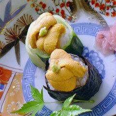 【お部屋食】【 生うに3品プラス 】殻付きウニ&生うにぶっかけ丼!グレードアップ