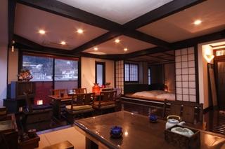 ミストサウナ・露天風呂付き客室で過ごす♪ ちょっとリッチな1泊2食(部屋食)の温泉旅