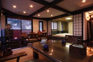 ミストサウナ・展望露天風呂付き 客室(大黒天の間)