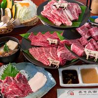 (^レベル5^)堪能のあそ焼肉!あか牛上位5種食べ比べプラン(2食付き)※カップルに!