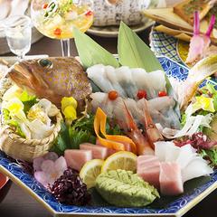 【ワンランク上の特撰懐石】旬の鮮魚の姿盛り付き〜北陸の魚の美味しさを存分に味わう