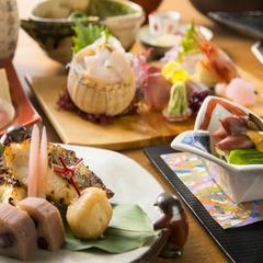 【定番ベストセラー】お部屋食でゆったり旬を味わう「月替り懐石」〜魯山人ゆかりの宿で23時間滞在を