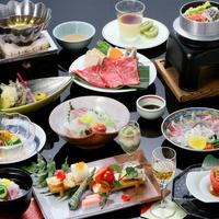 【*四季彩々・グルメ*】<萩の味覚>萩のブランド牛「長萩和牛」しゃぶ&萩の地魚など萩食材を贅沢に。