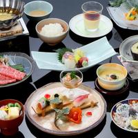 【*四季彩々*】<旬を味わう和会席>黒毛和牛しゃぶしゃぶ&萩の地魚など旬の味覚をご堪能ください。