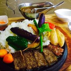 【2食付+特典付】**☆ポイント10倍**.夕食は「熱々鉄板で」エゾシカヒレ肉ステーキカレープラン☆