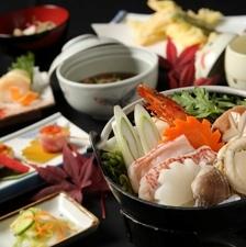 【大特価プラン】海鮮鍋 御前 お部屋食  2食付プラン