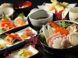 【大特価プラン】カップル、ファミリーにお勧め♪ お部屋食と貸切風呂でゆっくり 海鮮鍋御膳プラン