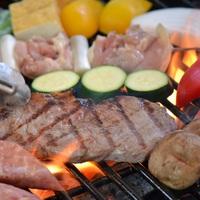 【1泊3食】グランピングでランチバーベキュー!ご夕食は手作りハンバーグ食べ放題(ご出発日ランチ)