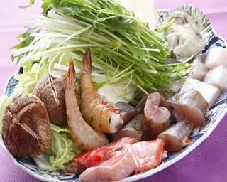 ☆こだわりの地魚料理と絶品海鮮鍋プラン
