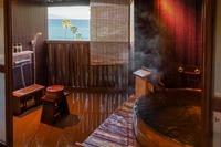《禁煙》【料亭食】海の見える源泉露天風呂客室【こんこん】