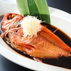 【お酒好きにオススメ♪】70分飲み放題!金目鯛の姿煮付きプラン=2食付き=