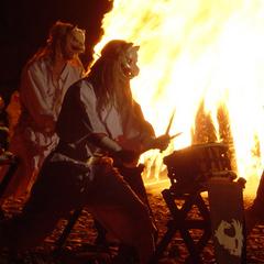 幻想的な『御神火祭』★松明行列参加券付★1泊朝食付プラン