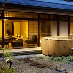 【桃山第/DXスイート】露天風呂付和洋室(130平米)