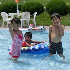 <キッズフリー>プールに縁日☆お子さまが選べる夕食とデザートブッフェ