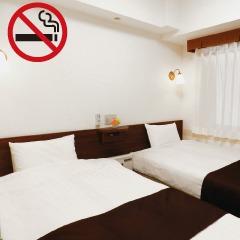 ツイン【禁煙】大人2名+子供2名迄(15歳以下)添い寝可