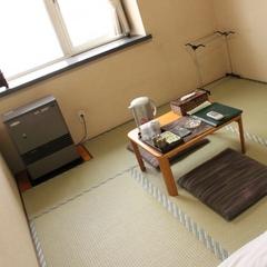 【喫煙】和室6畳(バス・トイレ付・Wifi接続可能)